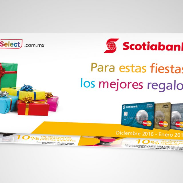Piezas impresas Scotiabank